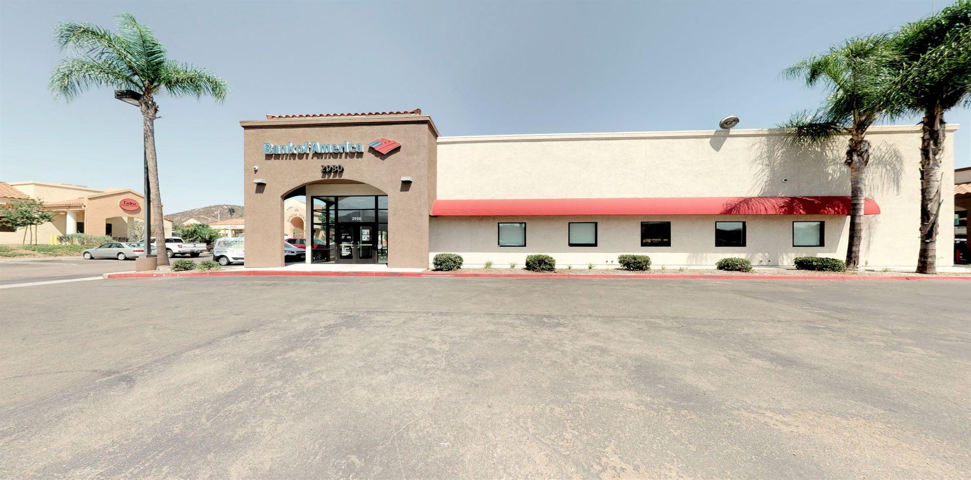 Bank of America financial center with walk-up ATM | 2930 Jamacha Rd, El Cajon, CA 92019