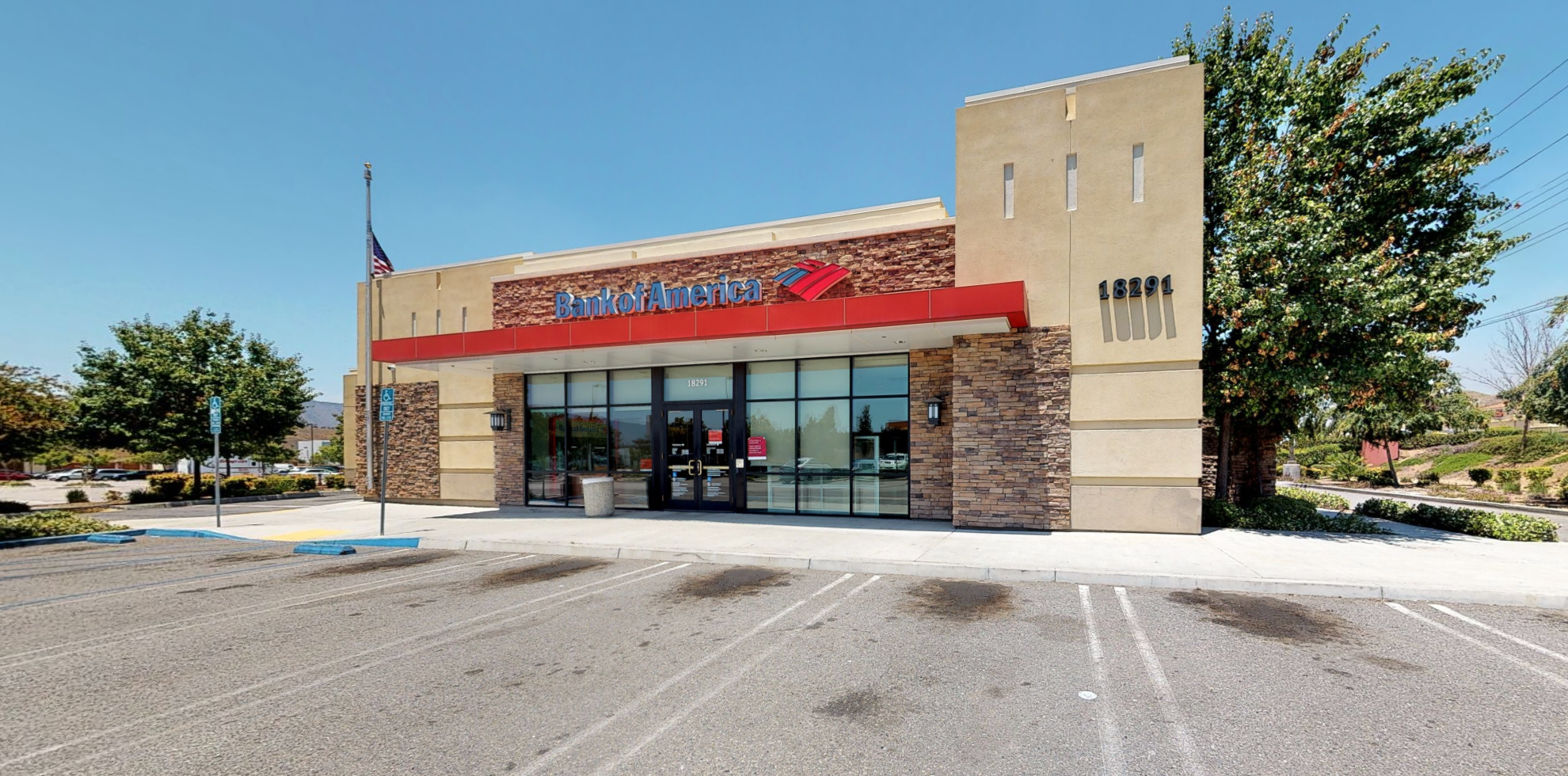 Bank of America financial center with drive-thru ATM | 18291 Collier Ave, Lake Elsinore, CA 92530