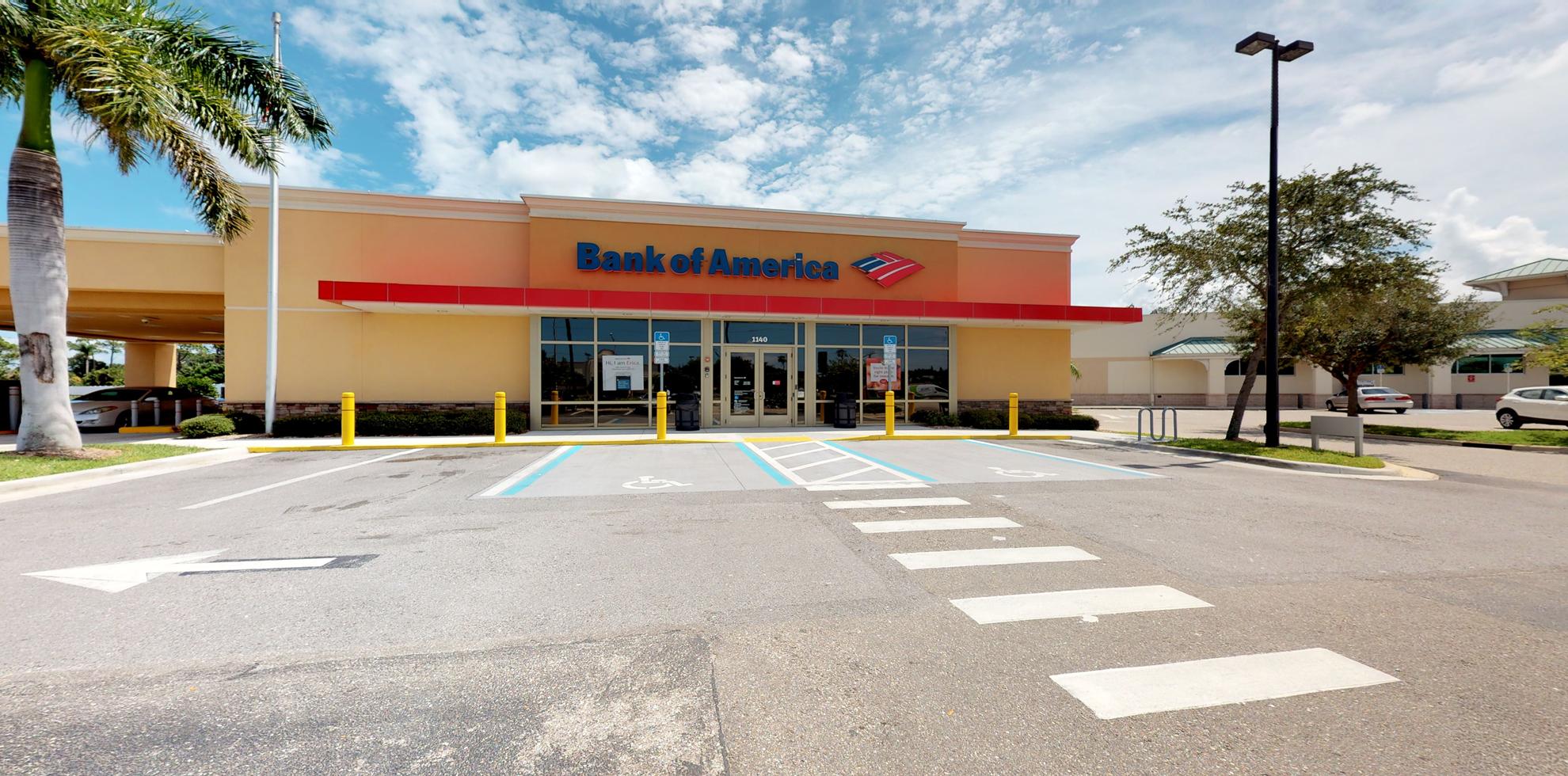 Bank of America financial center with drive-thru ATM | 1140 Tamiami Trl N, Nokomis, FL 34275