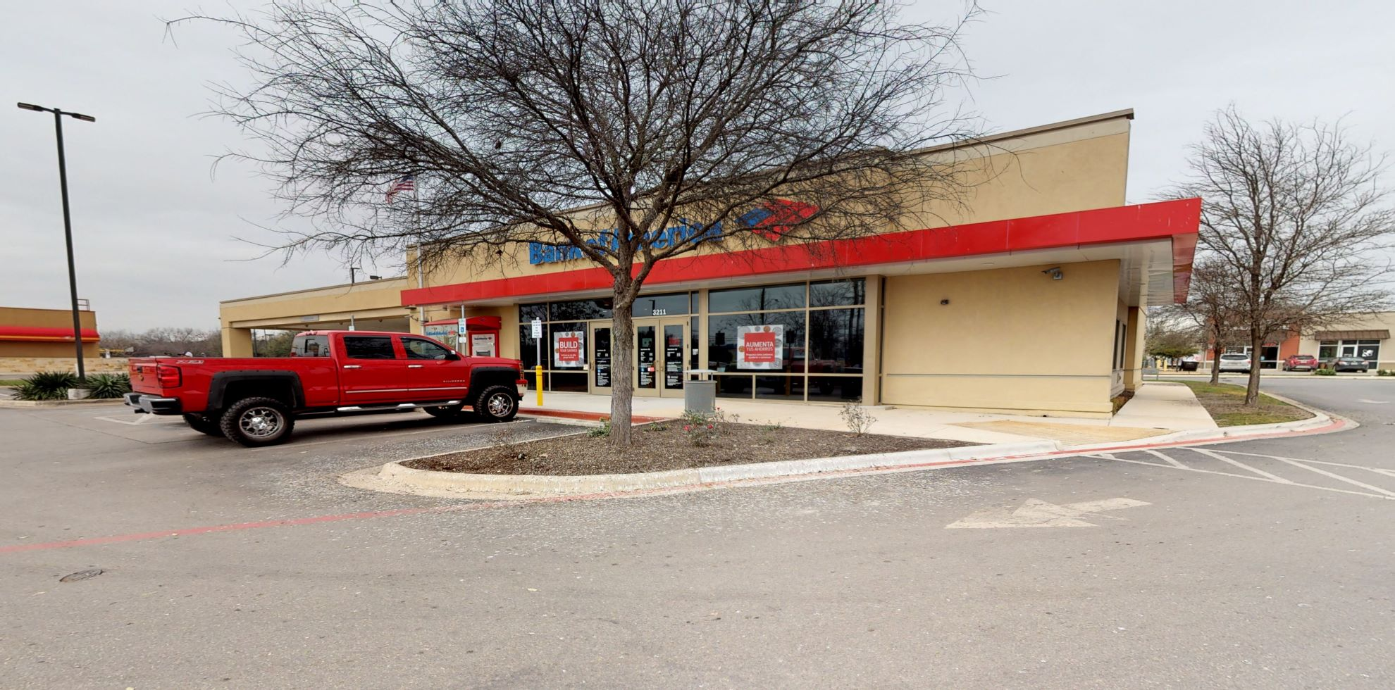 Bank of America financial center with drive-thru ATM   3211 SW Military Dr, San Antonio, TX 78211