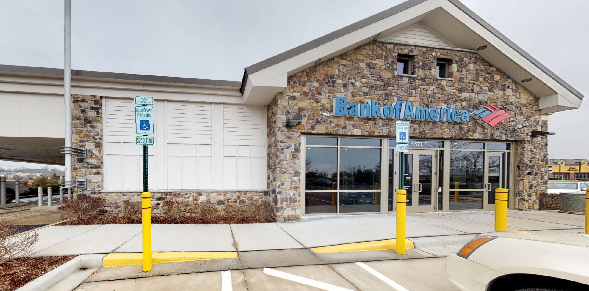 Bank of America financial center with drive-thru ATM and teller   3371 Worthington Blvd, Ijamsville, MD 21754