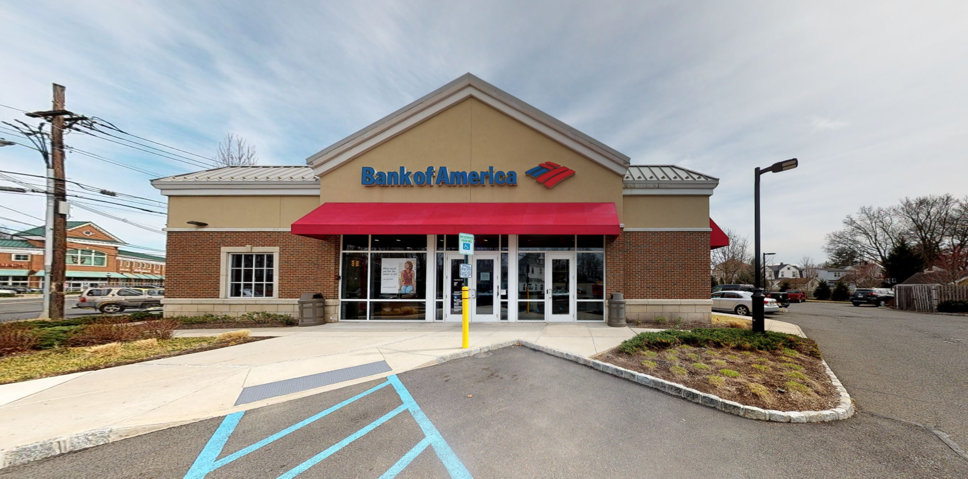 Bank of America financial center with drive-thru ATM | 101 South Ave W, Cranford, NJ 07016