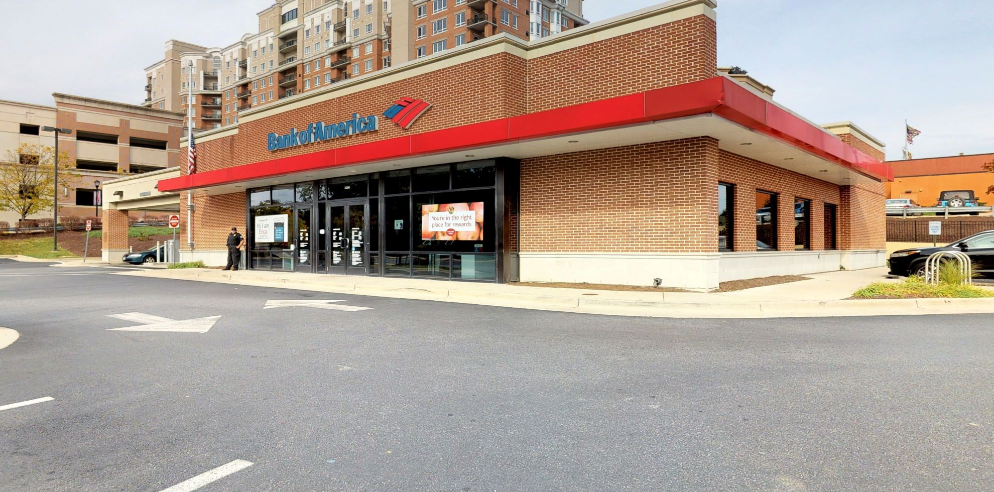 Bank of America financial center with drive-thru ATM and teller | 2200 Forest Dr, Annapolis, MD 21401