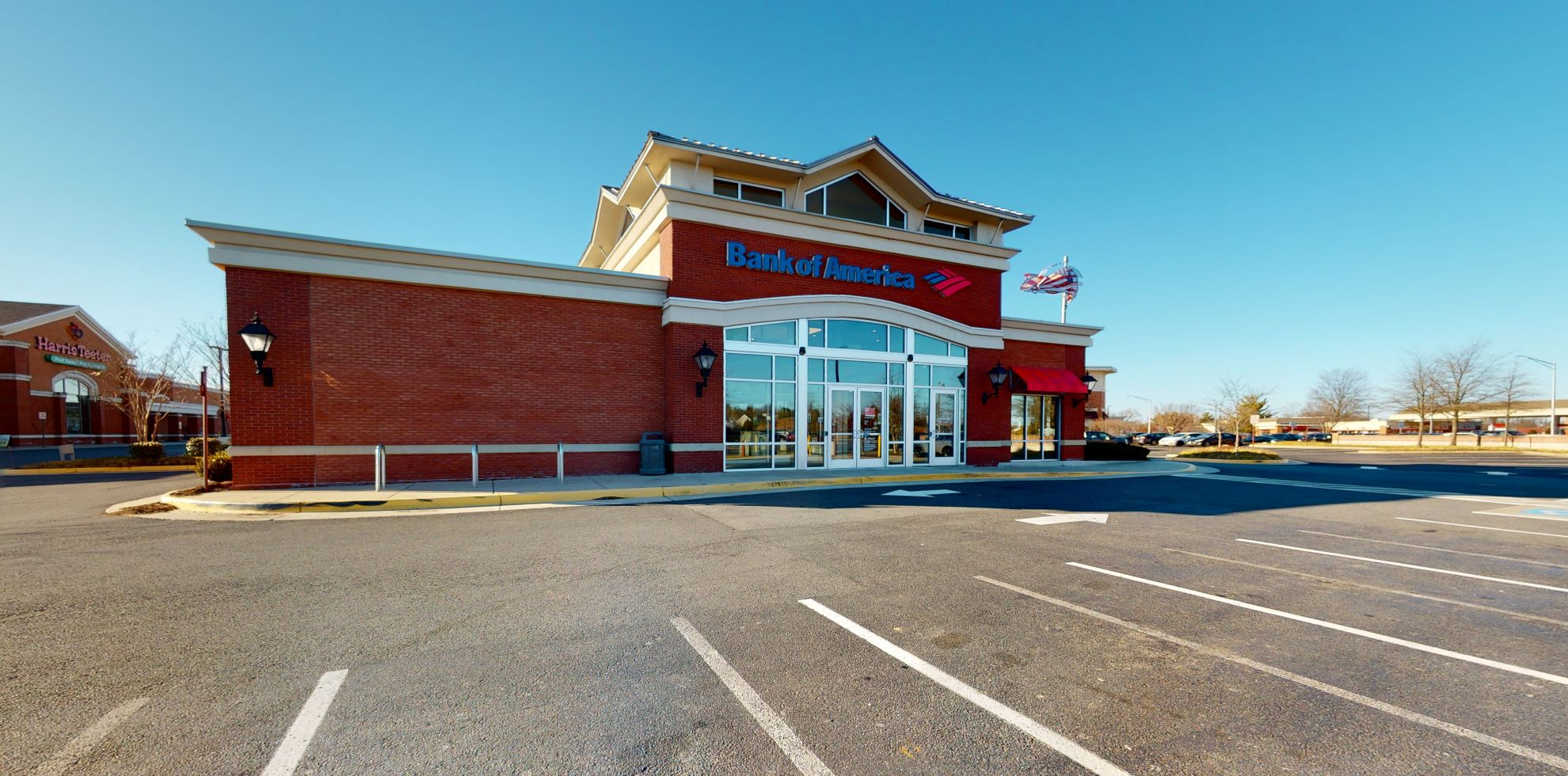 Bank of America financial center with drive-thru ATM | 10050 Market Cir, Manassas, VA 20110