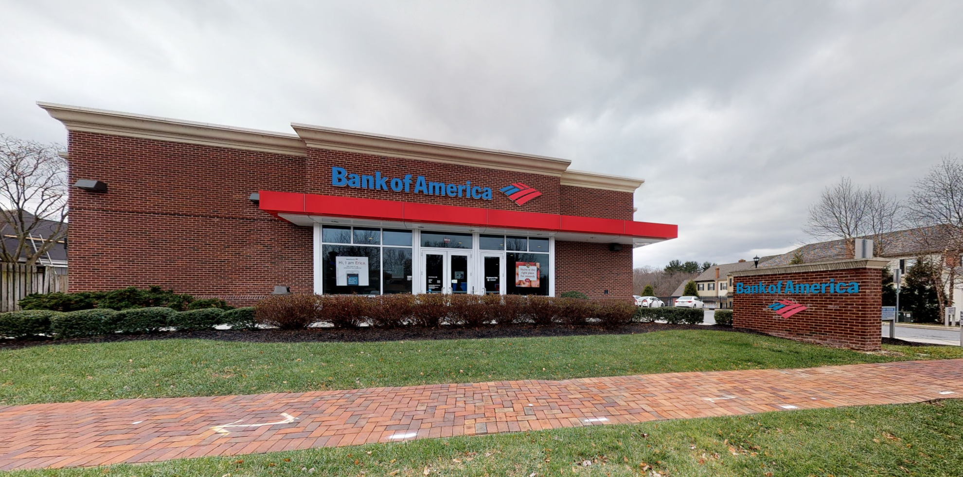 Bank of America financial center with drive-thru ATM   3816 Kennett Pike, Wilmington, DE 19807