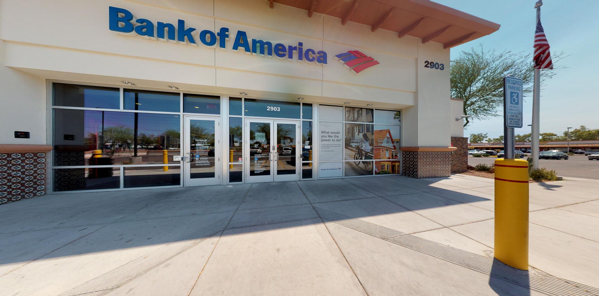 Bank of America financial center with drive-thru ATM   2903 W Bell Rd, Phoenix, AZ 85053