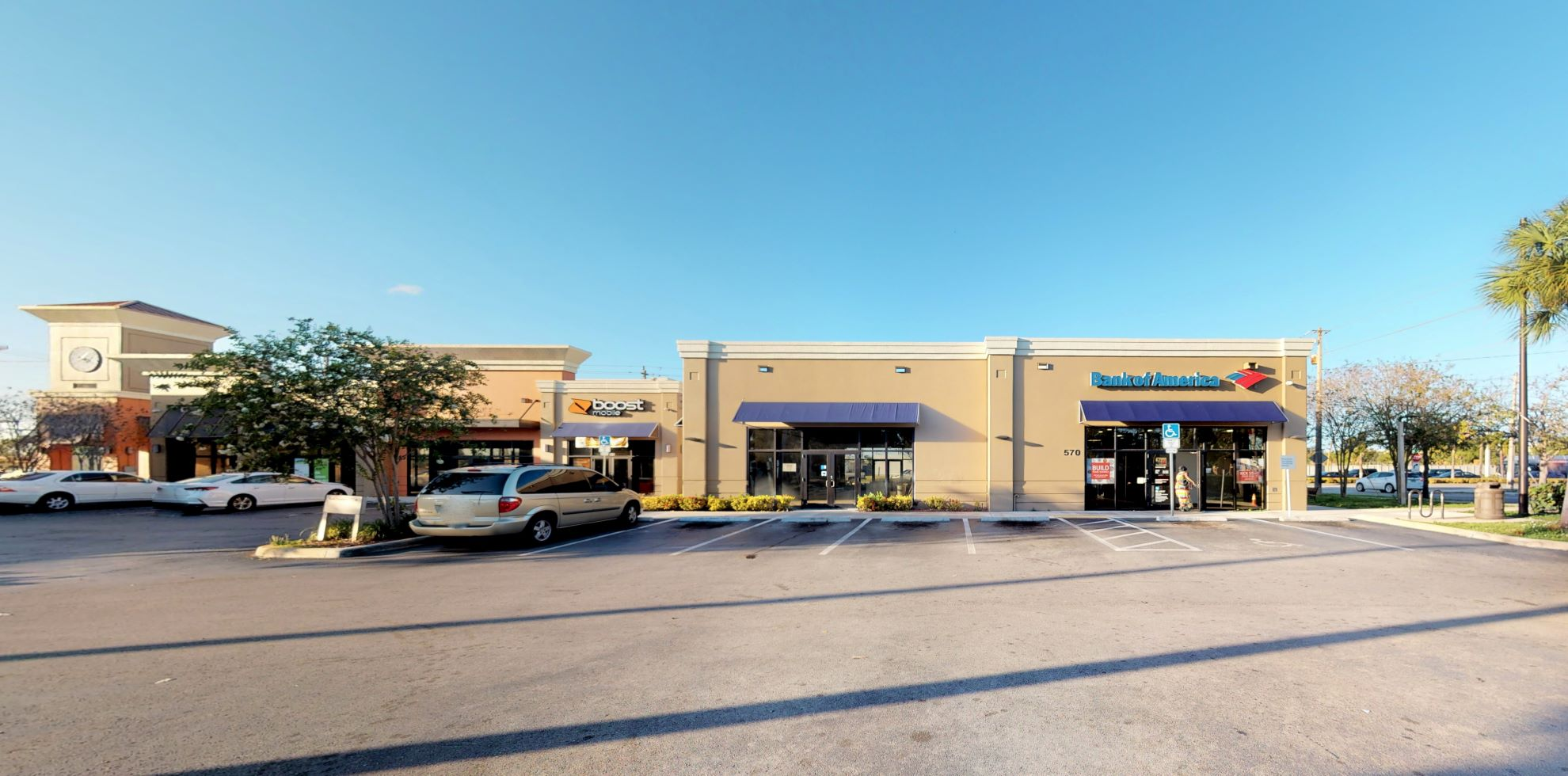 Bank of America financial center with drive-thru ATM | 570 NW 7th Ave, Fort Lauderdale, FL 33311