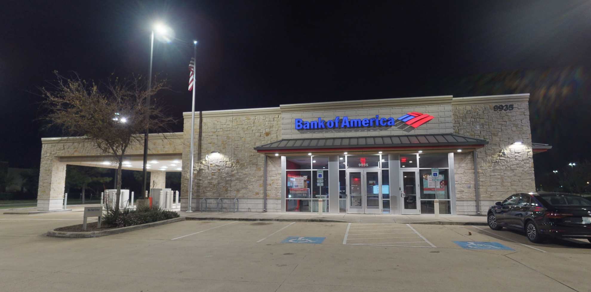 Bank of America financial center with drive-thru ATM   9935 Highway 6, Missouri City, TX 77459