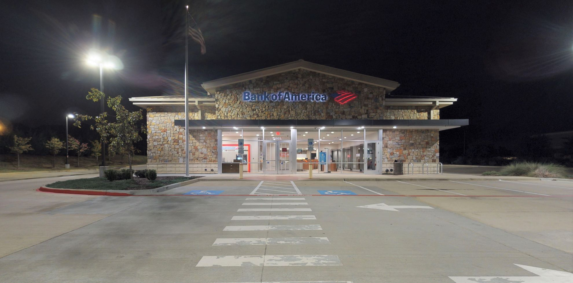 Bank of America financial center with drive-thru ATM | 4001 Cross Timbers Rd, Flower Mound, TX 75028