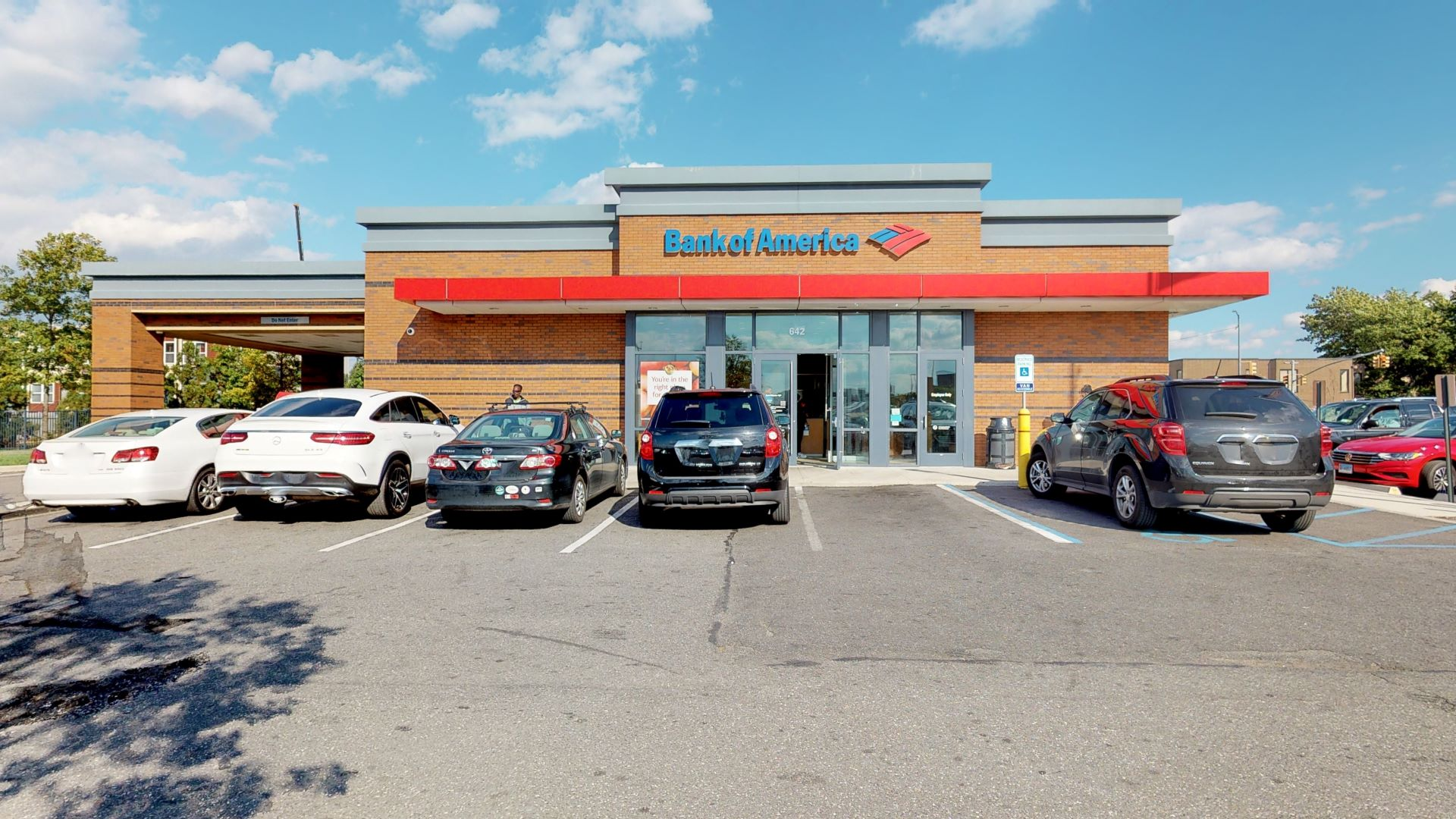 Bank of America financial center with drive-thru ATM   642 Gateway Dr, Brooklyn, NY 11239
