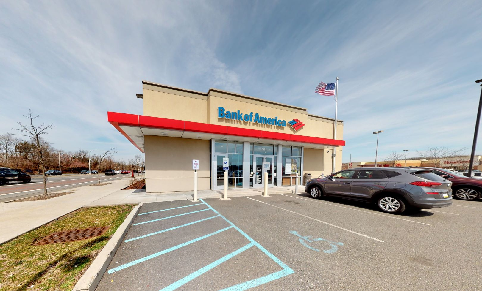 Bank of America financial center with drive-thru ATM   2895 Richmond Ave, Staten Island, NY 10314