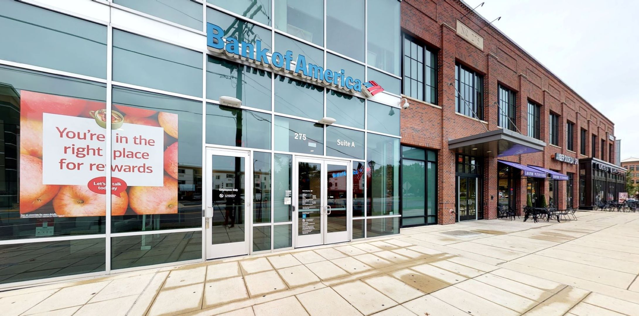 Bank of America financial center with drive-thru ATM | 275 N Washington St STE A, Rockville, MD 20850