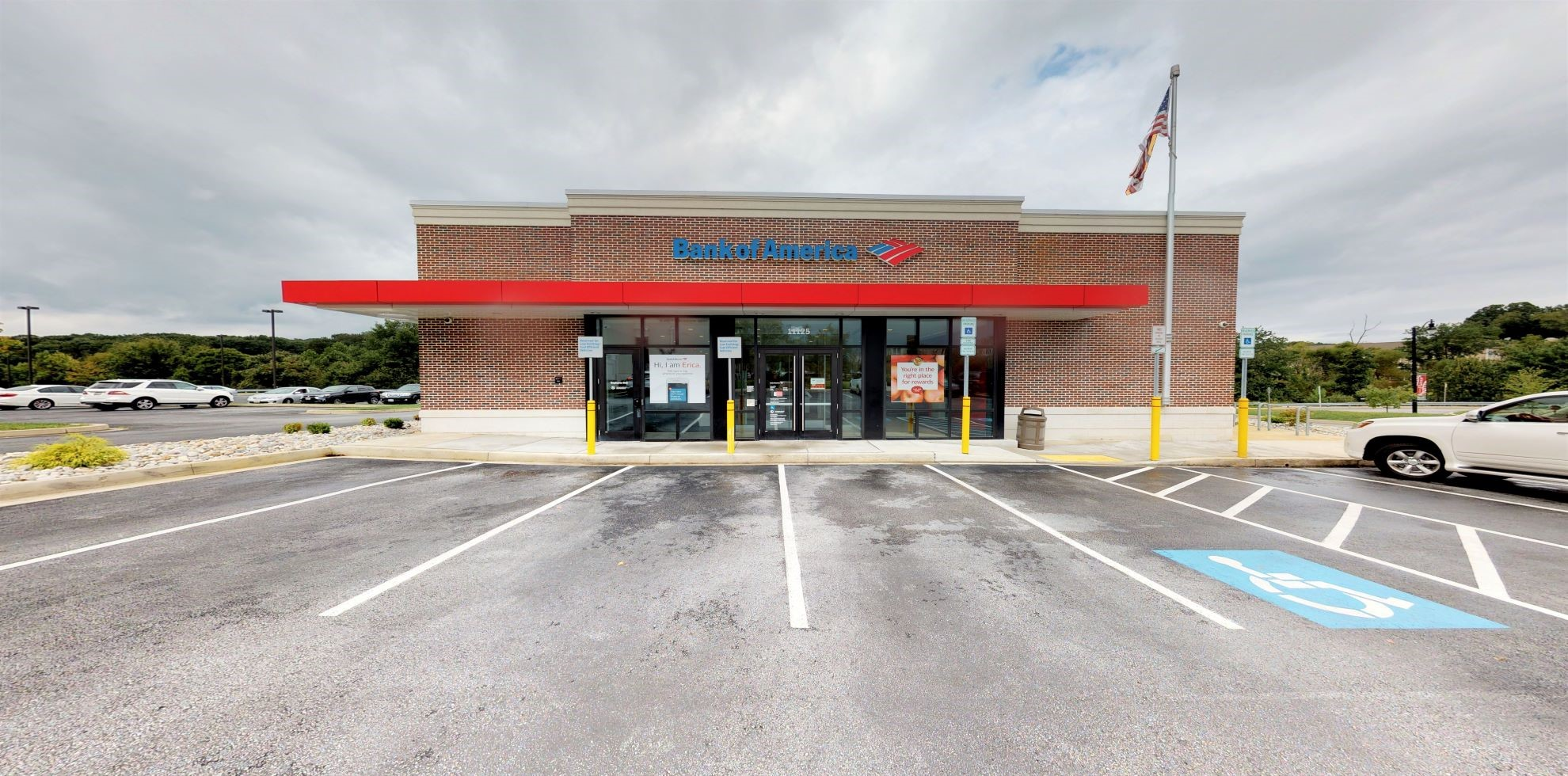 Bank of America financial center with drive-thru ATM | 11125 Resort Rd, Ellicott City, MD 21042