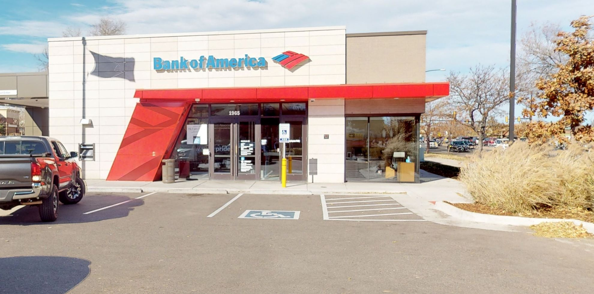 Bank of America financial center with drive-thru ATM | 1965 28th St, Boulder, CO 80301