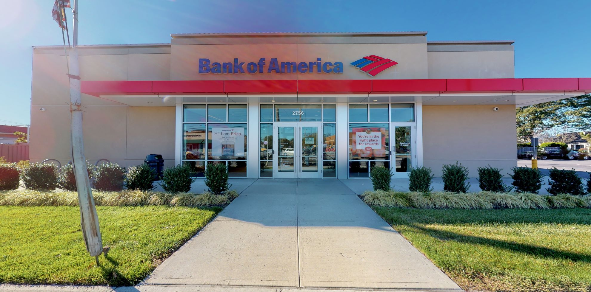 Bank of America financial center with drive-thru ATM | 2756 Long Beach Rd, Oceanside, NY 11572