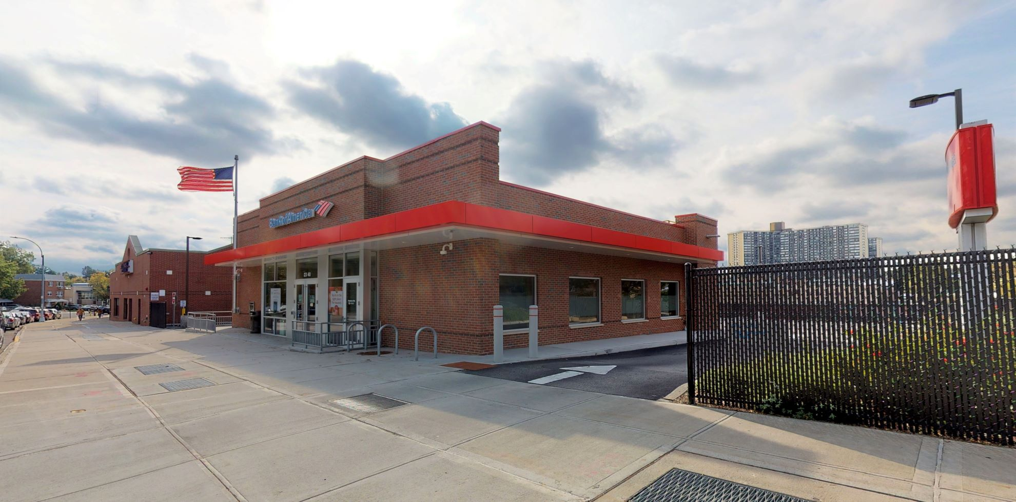 Bank of America financial center with drive-thru ATM   2340 Bell Blvd, Bayside, NY 11360