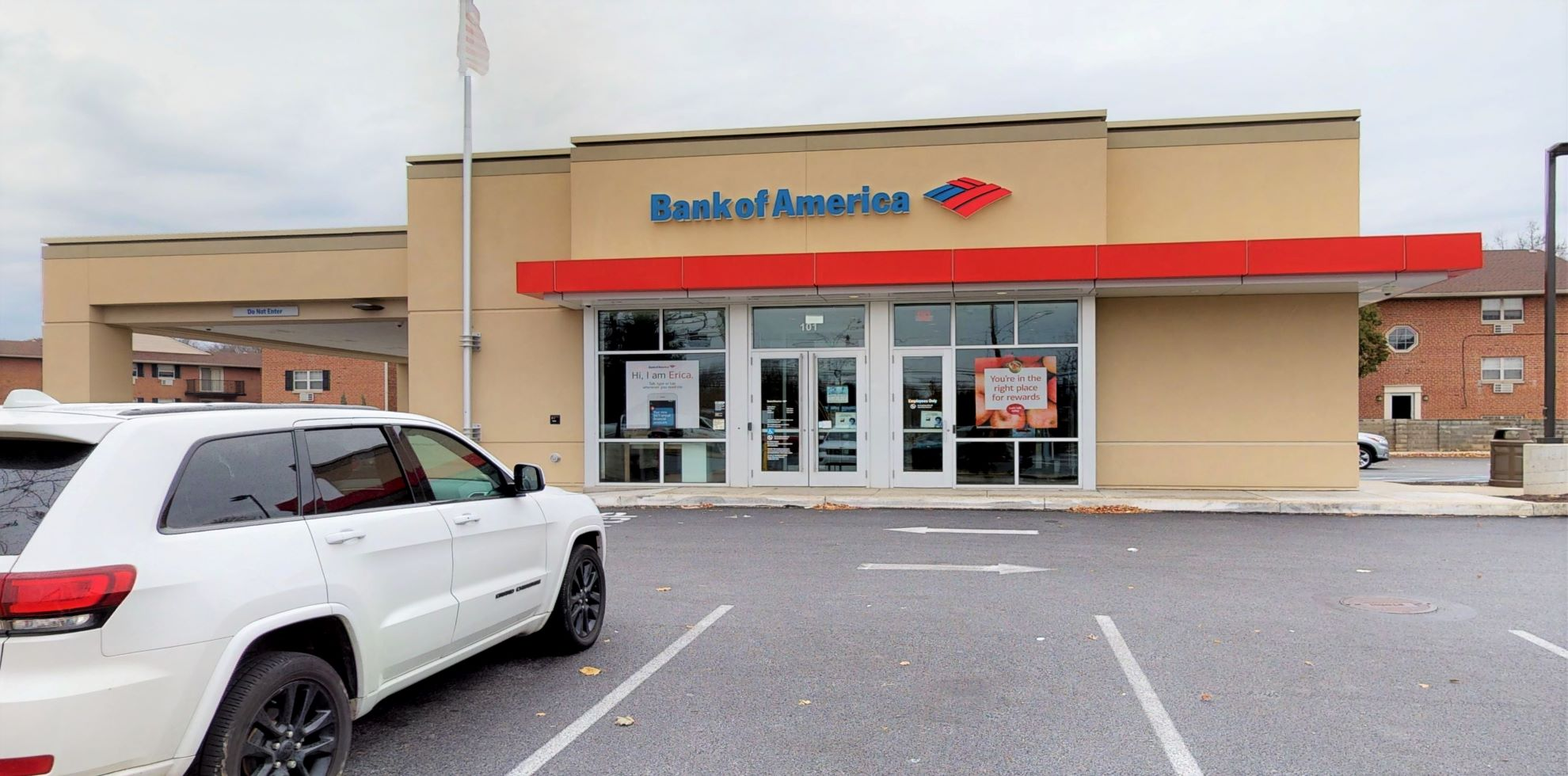 Bank of America financial center with drive-thru ATM   101 W MacDade Blvd, Folsom, PA 19033
