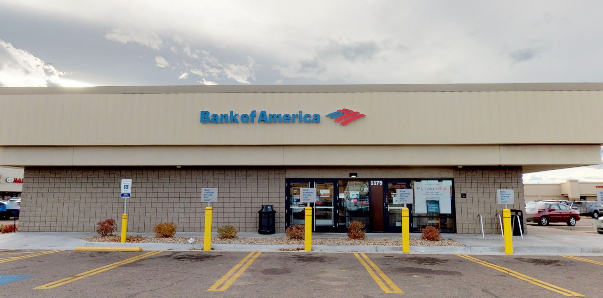 Bank of America financial center with walk-up ATM   1175 S Havana St Unit A1, Aurora, CO 80012
