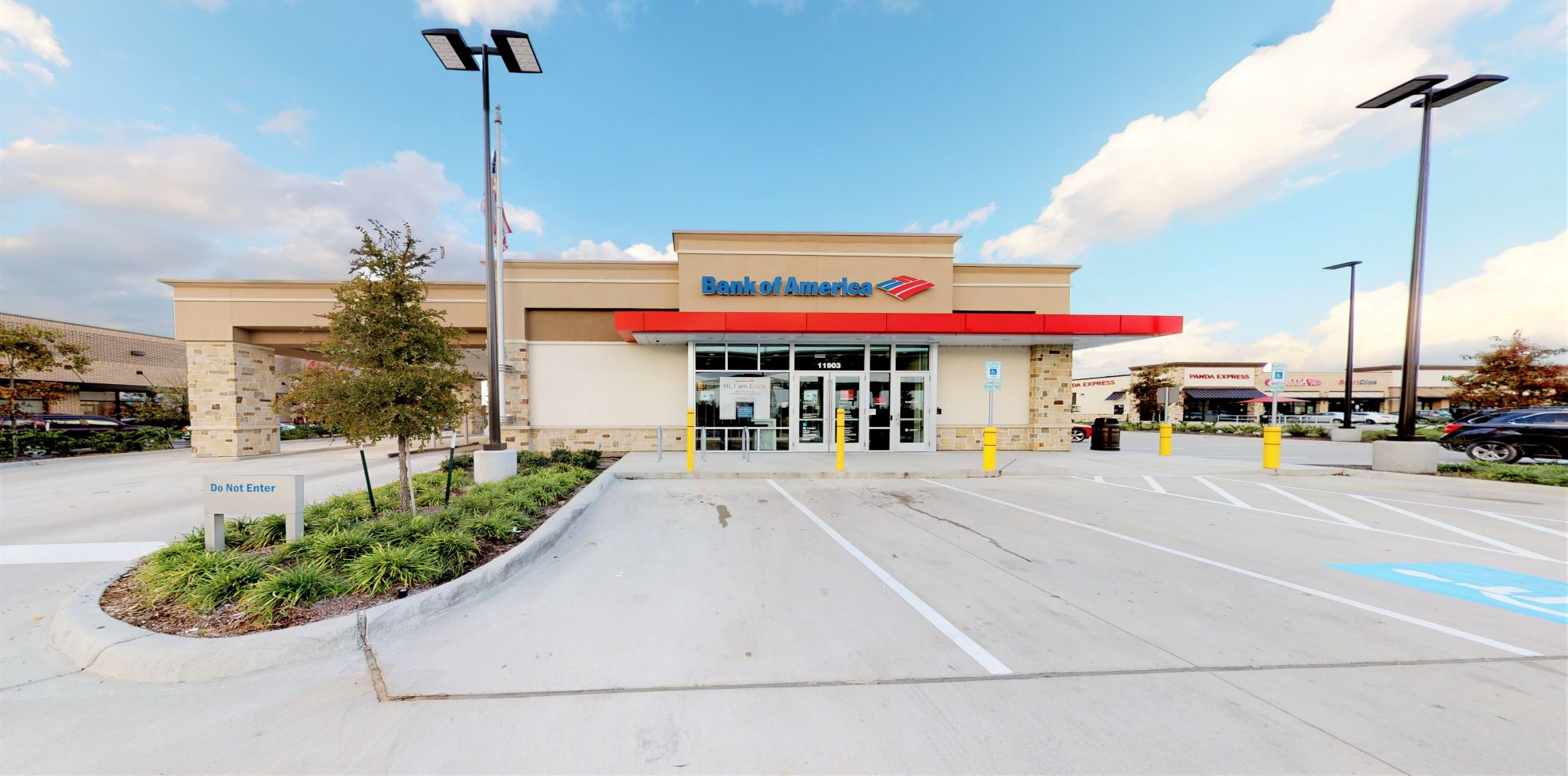 Bank of America financial center with drive-thru ATM | 11903 N Grand Pkwy E, New Caney, TX 77357