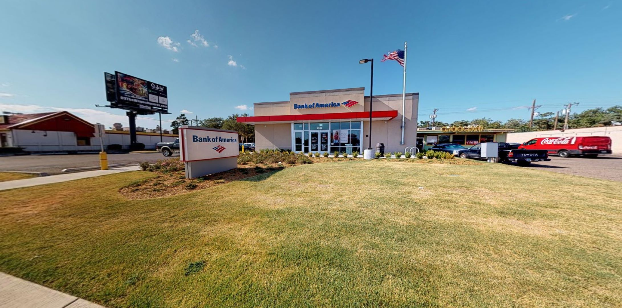 Bank of America financial center with walk-up ATM | 2332 19th St, Lubbock, TX 79401