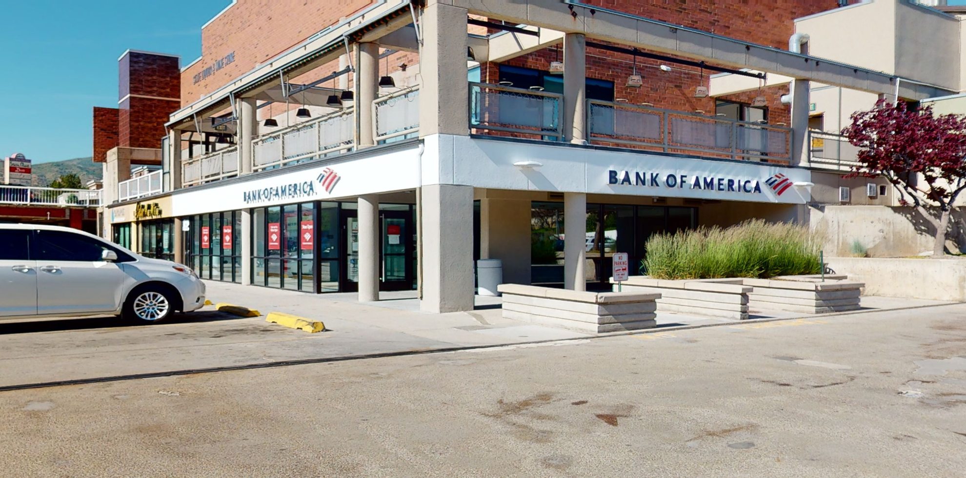 Bank of America financial center with walk-up ATM | 1414 S Foothill Dr STE 5, Salt Lake City, UT 84108