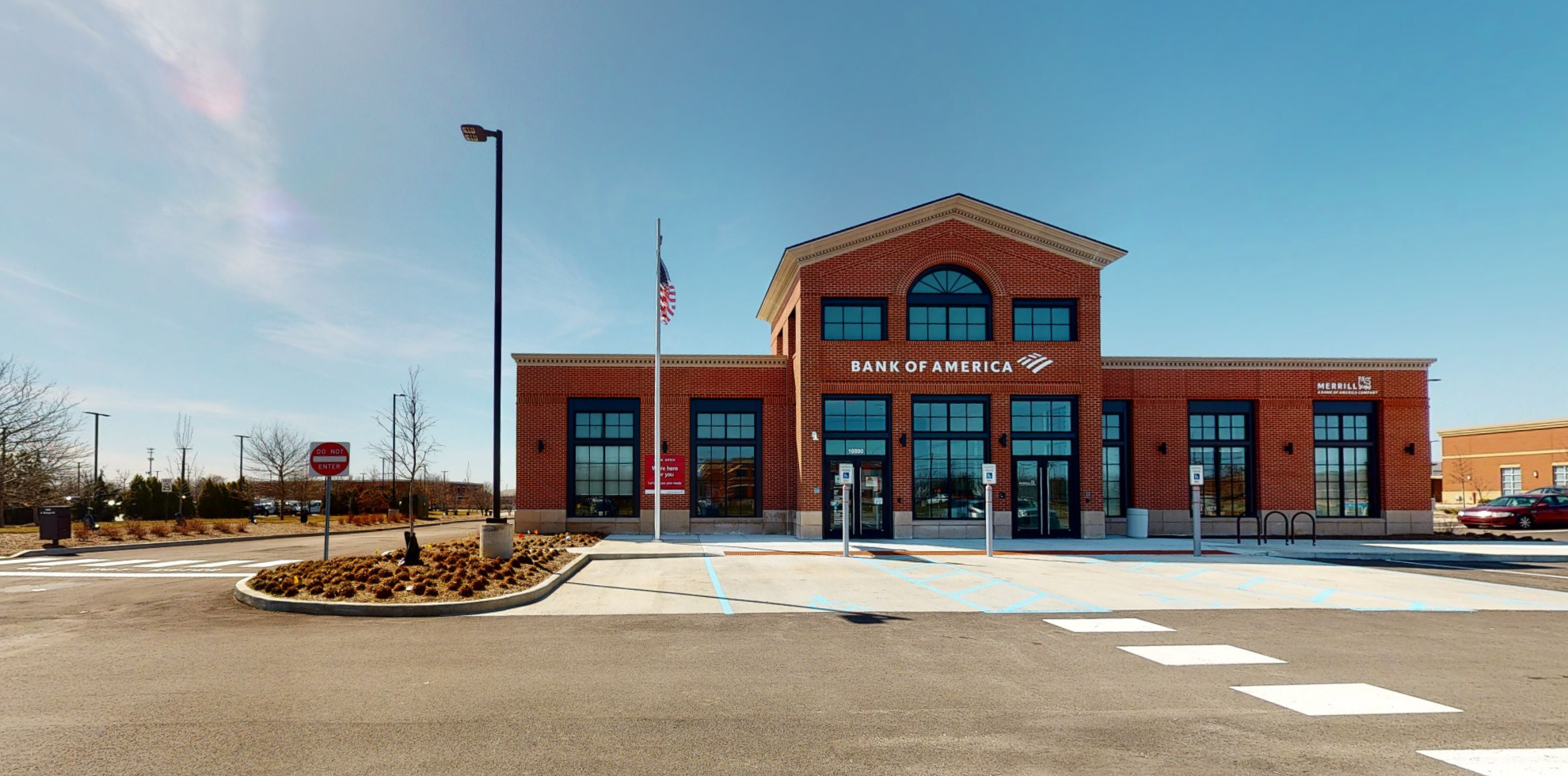 Bank of America financial center with drive-thru ATM | 10800 N Michigan Rd, Zionsville, IN 46077