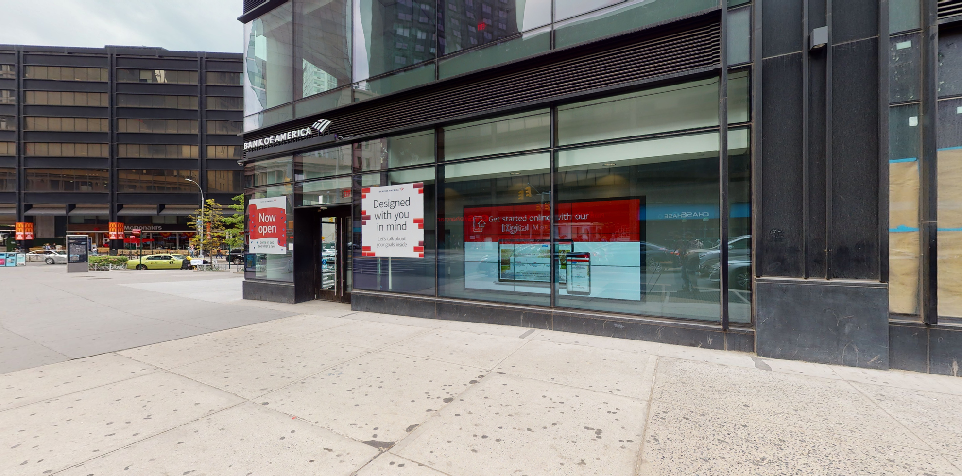 Bank of America financial center with walk-up ATM   1 Flatbush Ave, Brooklyn, NY 11217