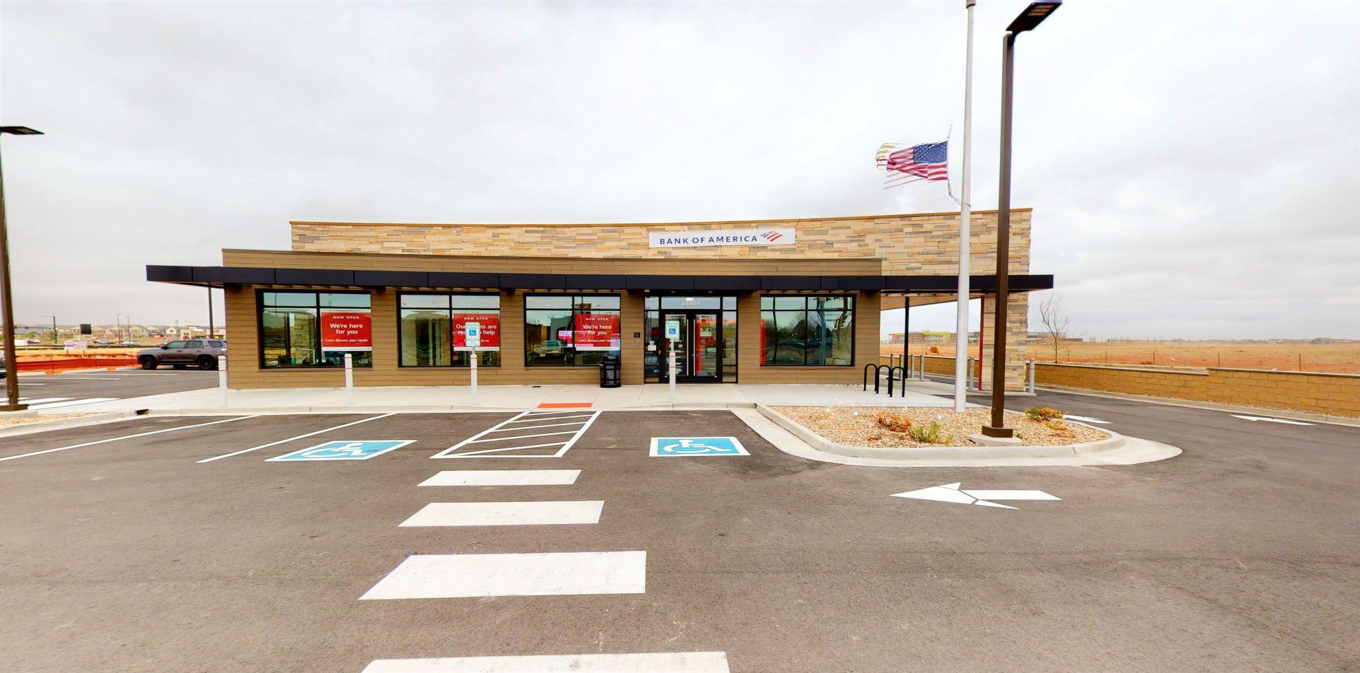 Bank of America financial center with drive-thru ATM   18484 E 49th Ave, Denver, CO 80249