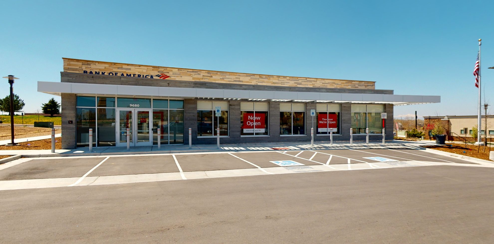 Bank of America financial center with drive-thru ATM | 9680 Grant St, Thornton, CO 80229