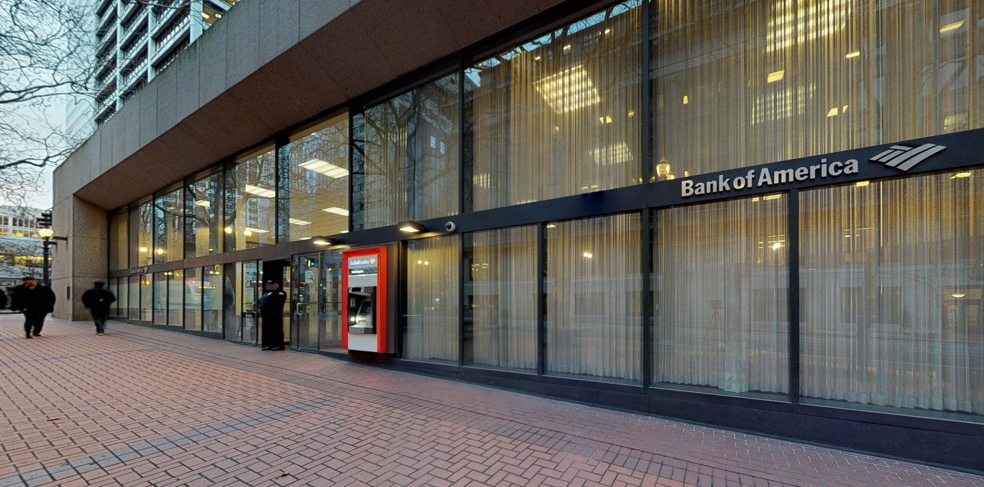 Bank of America financial center with walk-up ATM | 1001 SW 5th Ave, Portland, OR 97204