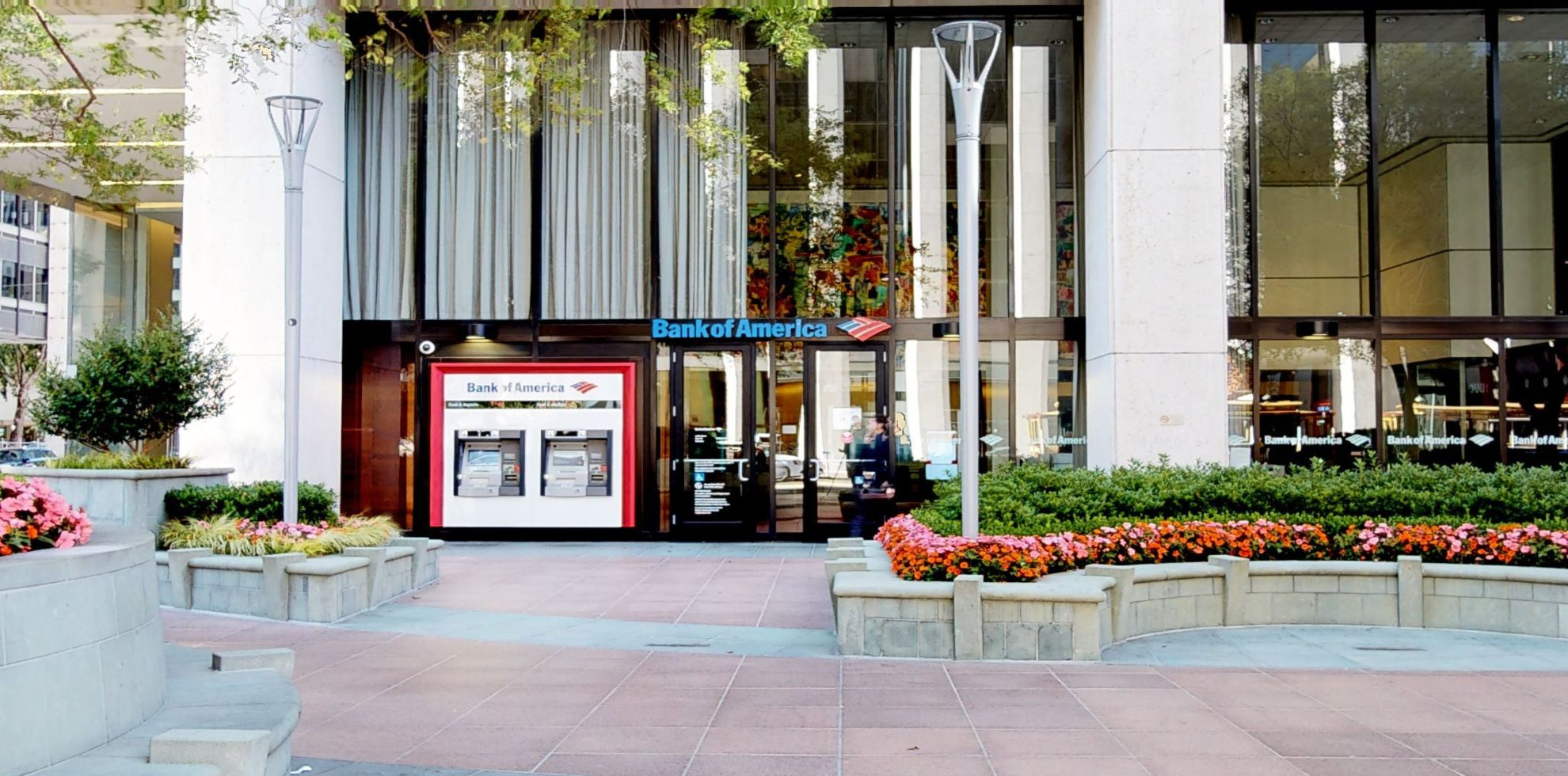 Bank of America financial center with walk-up ATM | 50 California St, San Francisco, CA 94111