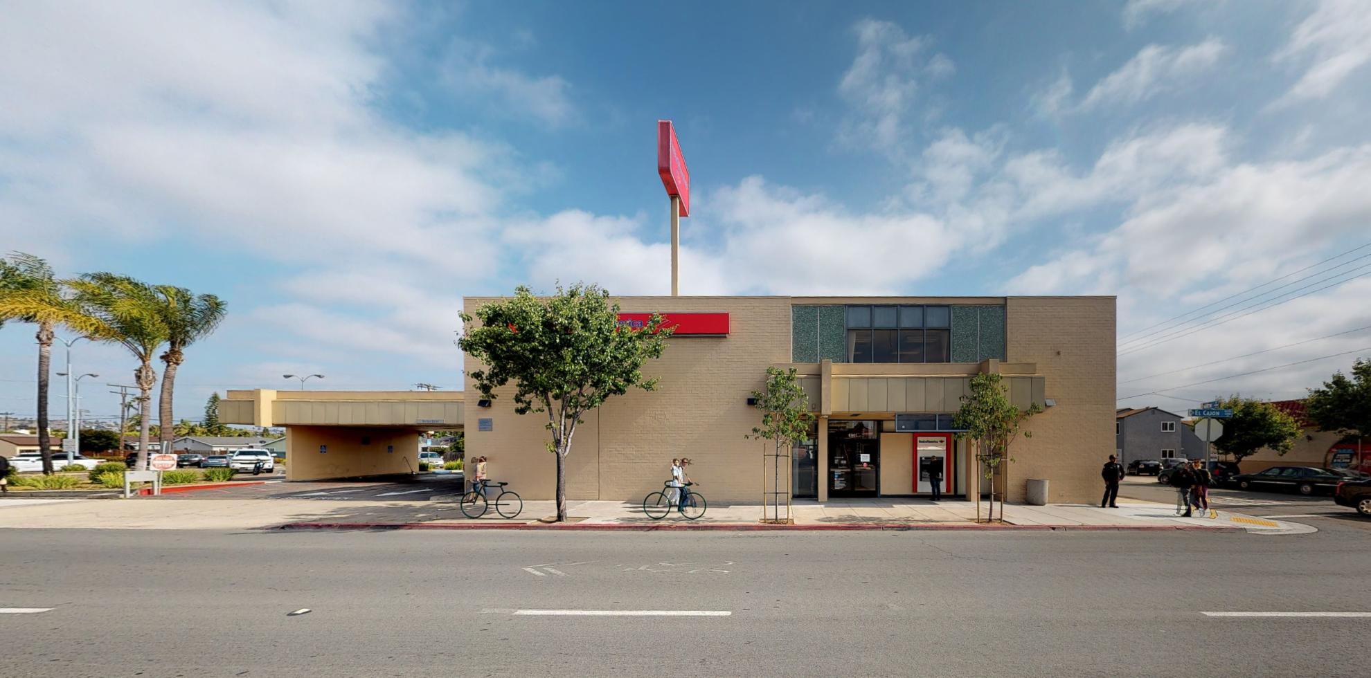Bank of America financial center with drive-thru ATM | 6801 El Cajon Blvd, San Diego, CA 92115