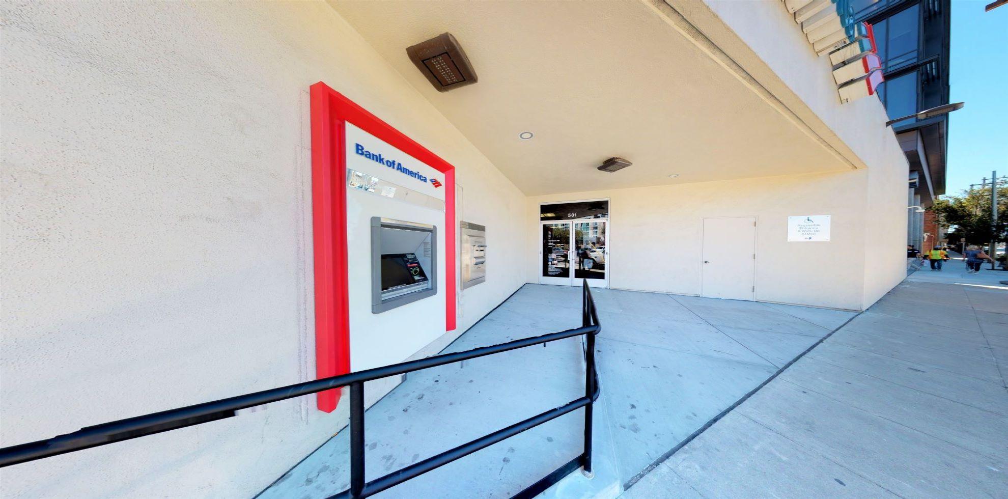 Bank of America financial center with drive-thru ATM | 501 Brannan St, San Francisco, CA 94107