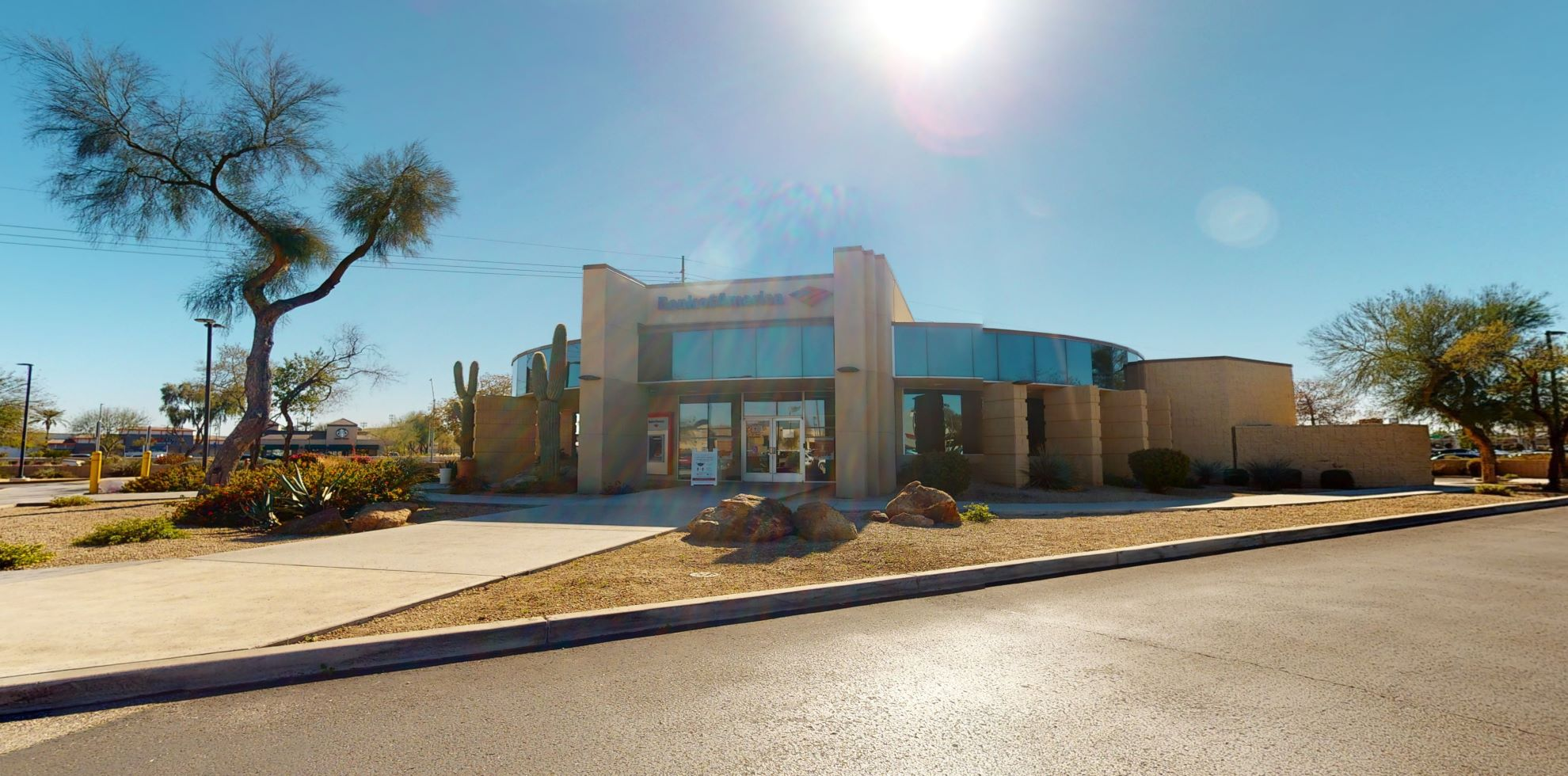 Bank of America financial center with drive-thru ATM | 8258 W Bell Rd, Glendale, AZ 85308