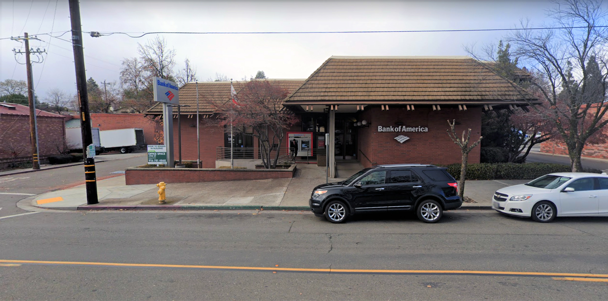 Bank of America financial center with walk-up ATM | 900 High St, Auburn, CA 95603