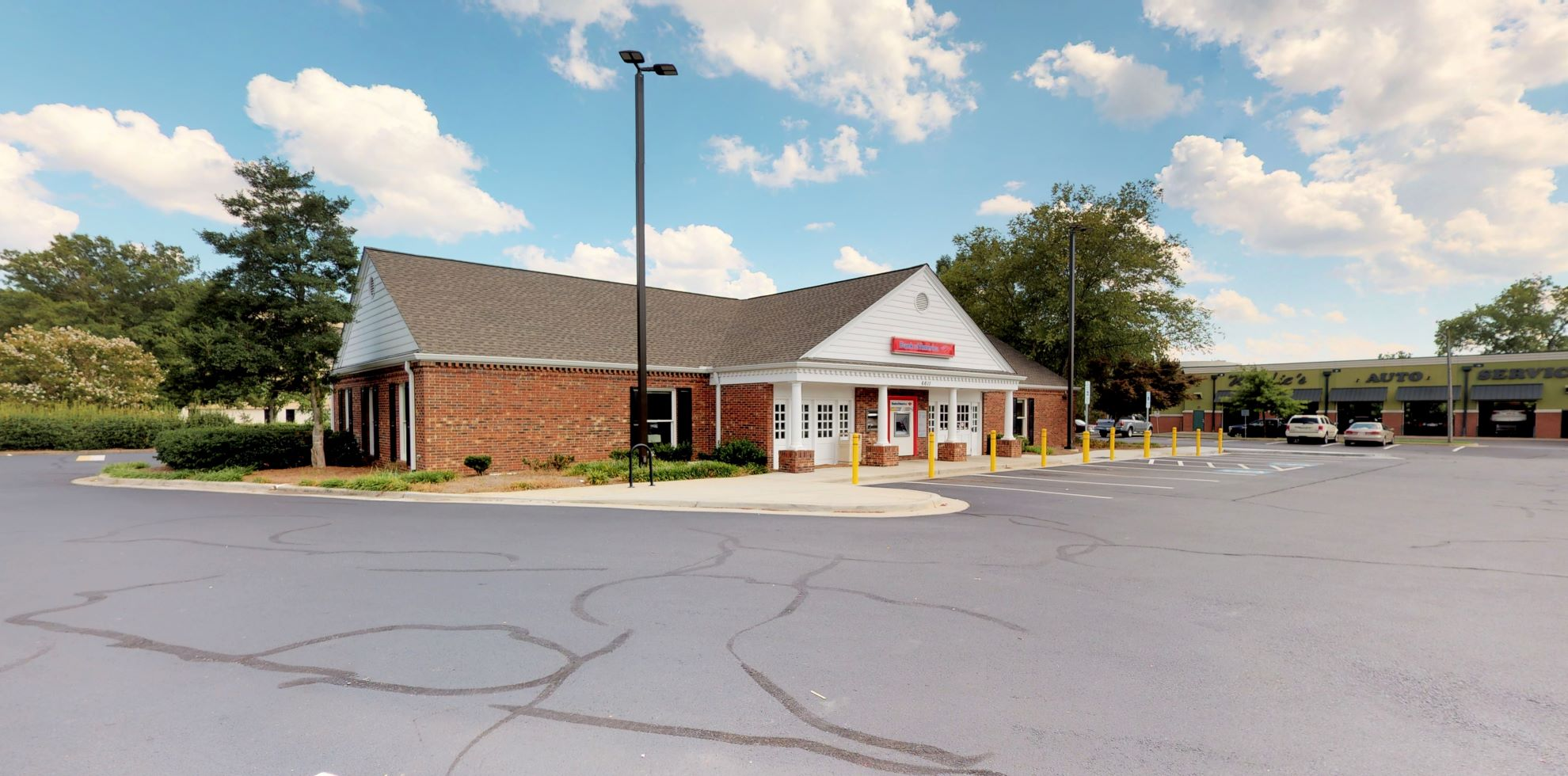 Bank of America financial center with drive-thru ATM   6611 Carmel Rd, Charlotte, NC 28226