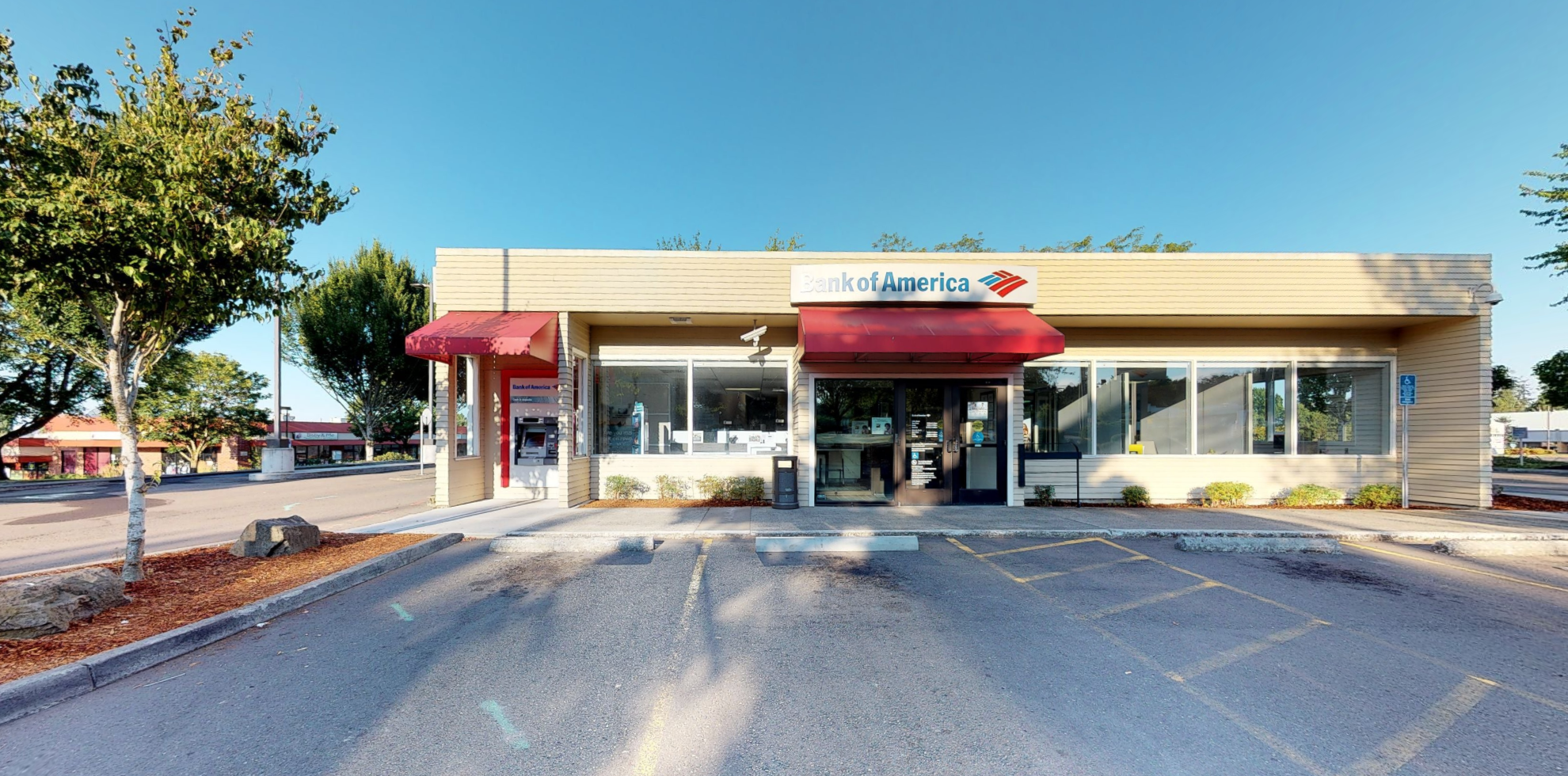 Bank of America financial center with walk-up ATM   12600 NW Cornell Rd, Portland, OR 97229