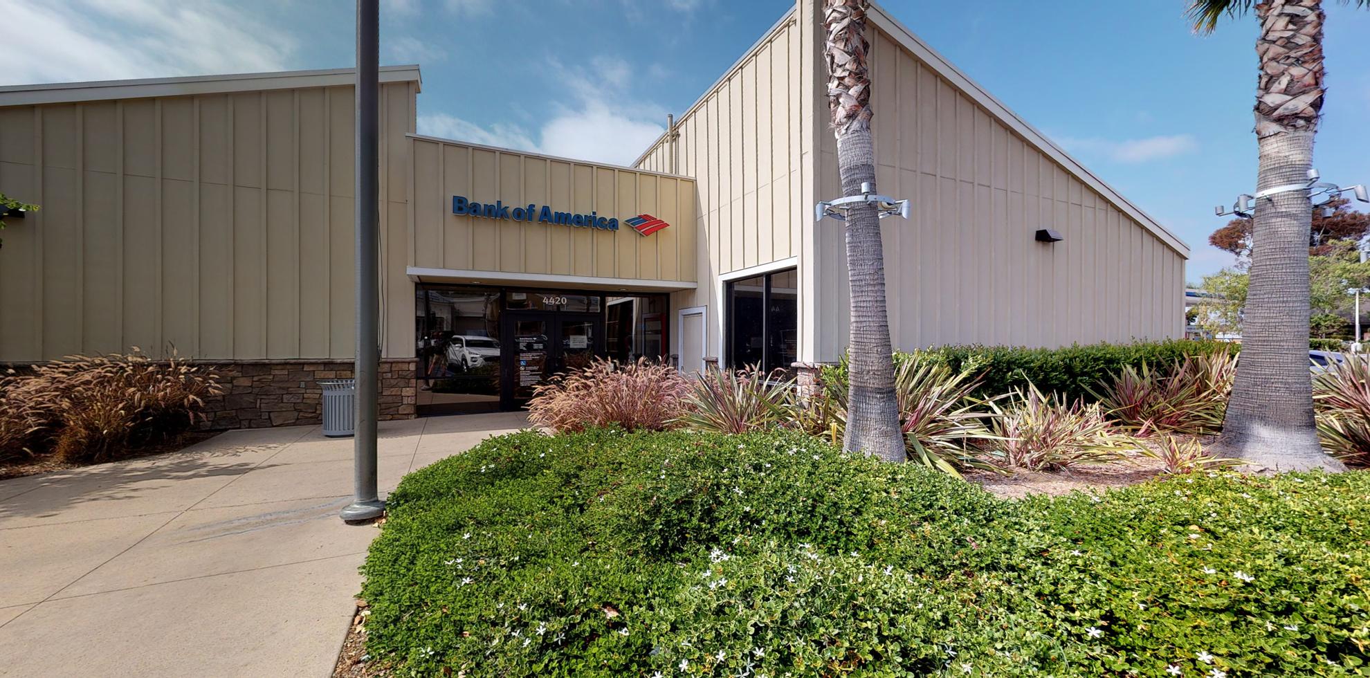 Bank of America financial center with drive-thru ATM   4420 Bonita Rd, Bonita, CA 91902
