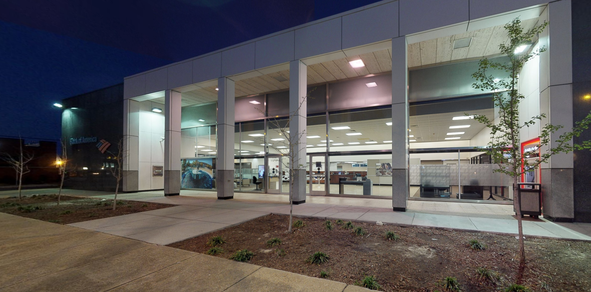 Bank of America financial center with drive-thru ATM   1916 Colonial Ave, Norfolk, VA 23517