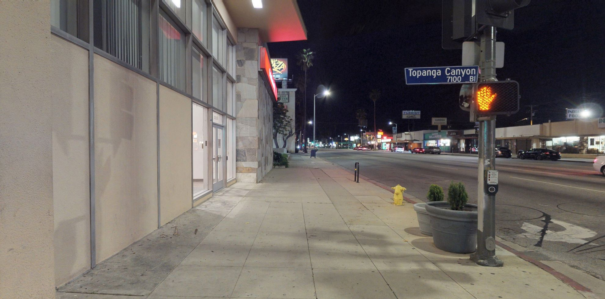 Bank of America financial center with walk-up ATM   22004 Sherman Way, Canoga Park, CA 91303