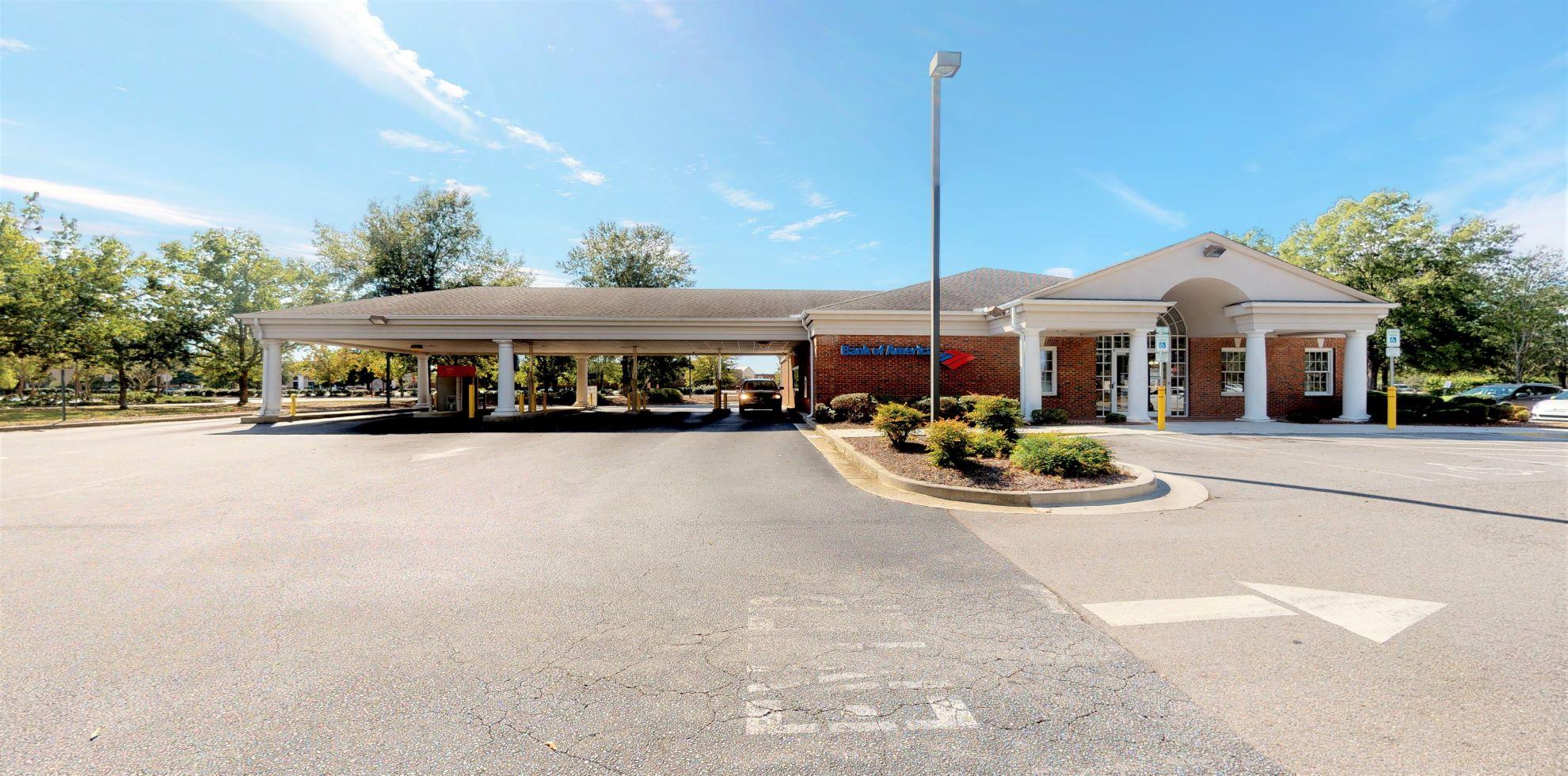 Bank of America financial center with drive-thru ATM and teller | 150 Aiken Mall Dr, Aiken, SC 29803