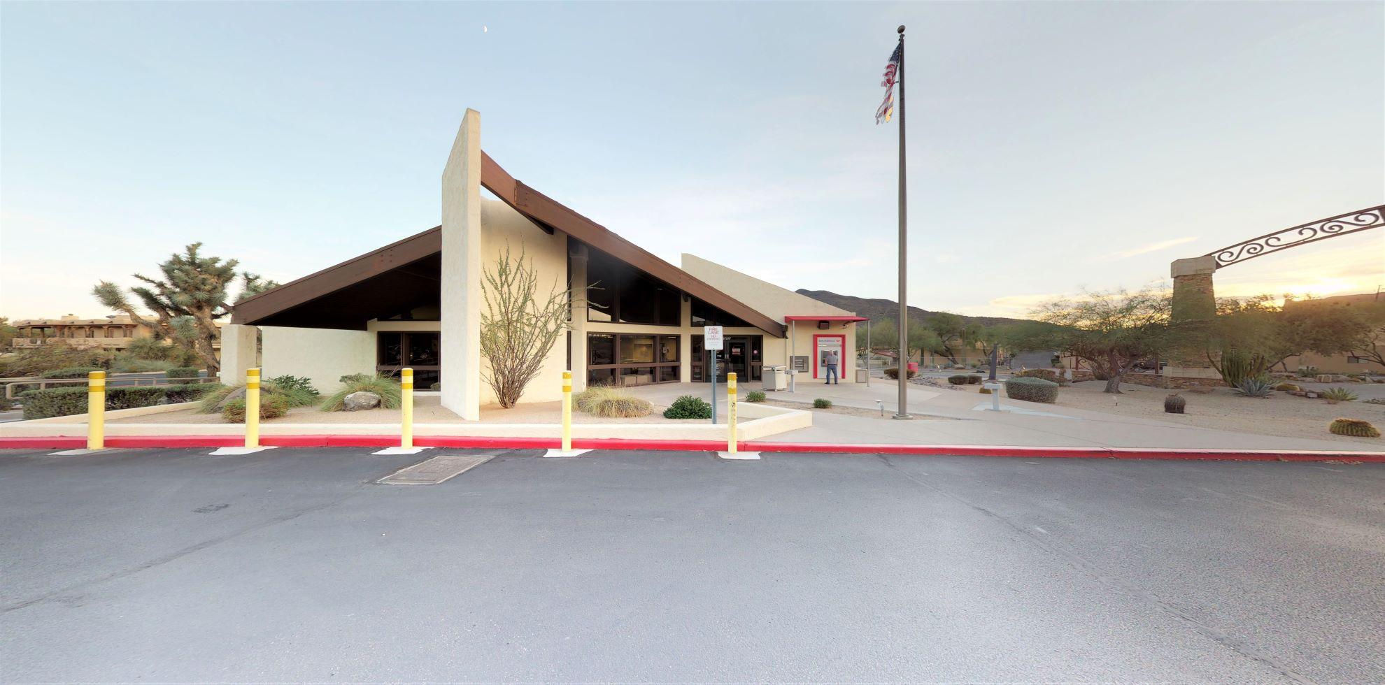 Bank of America financial center with walk-up ATM | 37217 N Tom Darlington Dr, Carefree, AZ 85377