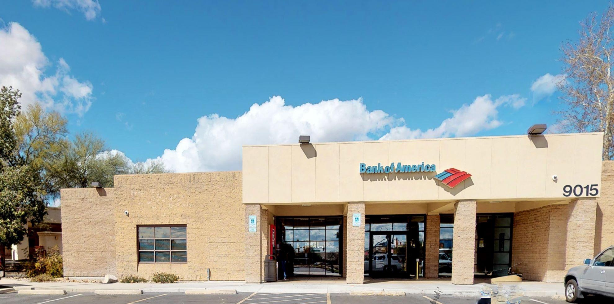 Bank of America financial center with drive-thru ATM   9015 E Tanque Verde Rd, Tucson, AZ 85749