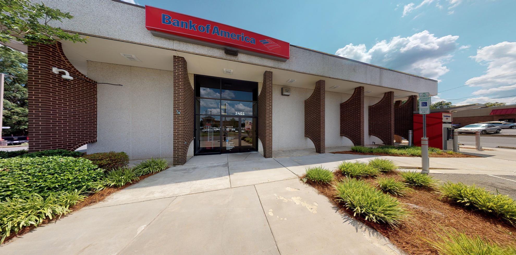 Bank of America financial center with drive-thru ATM   2401 W Franklin Blvd, Gastonia, NC 28052