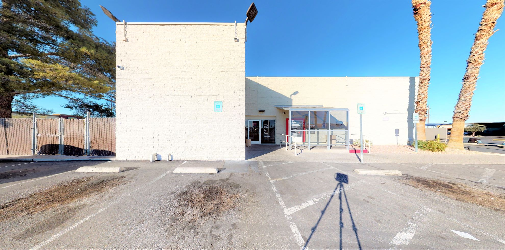 Bank of America financial center with drive-thru ATM   4801 W Charleston Blvd, Las Vegas, NV 89146