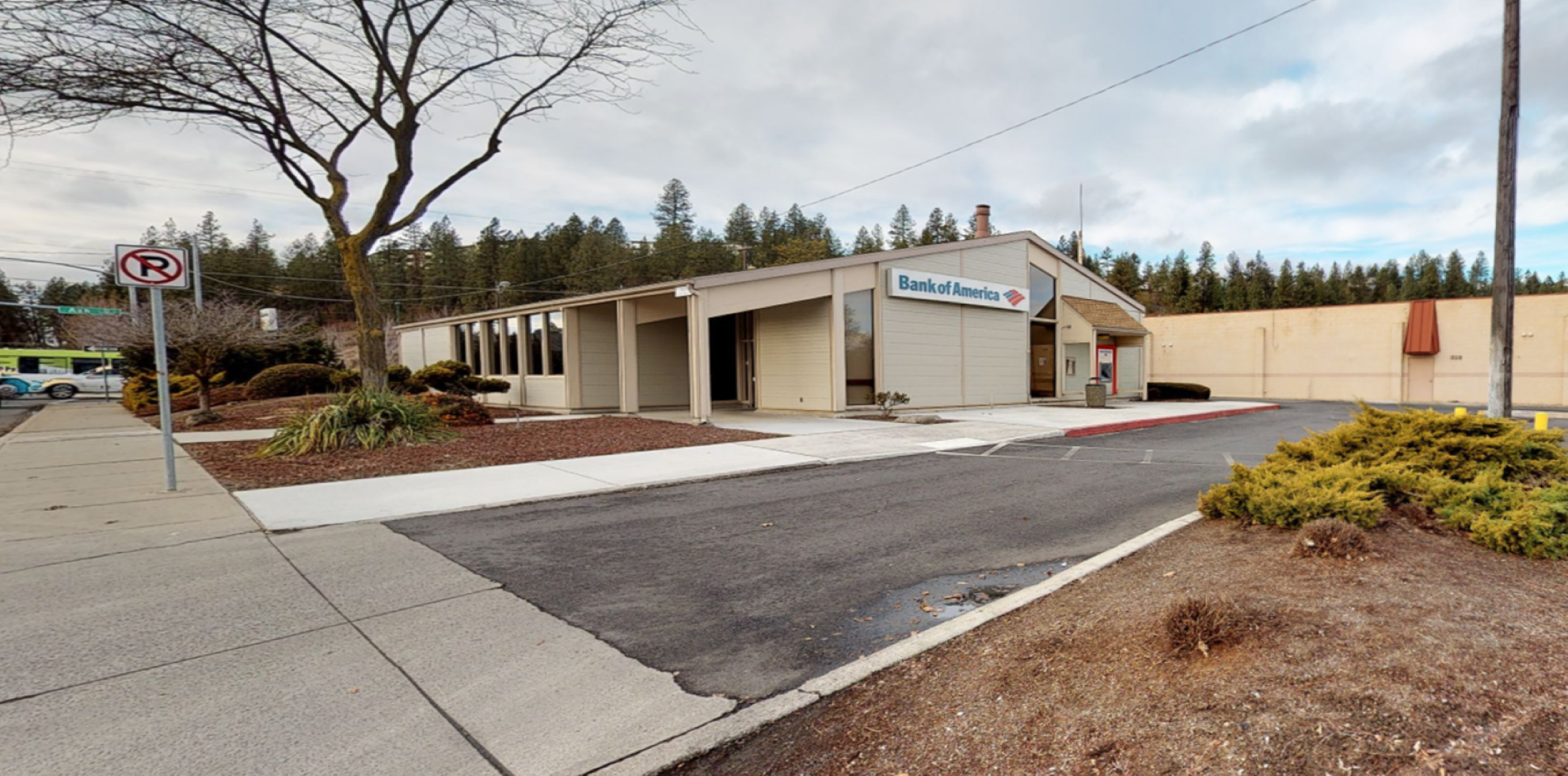Bank of America financial center with walk-up ATM   1628 W Five Mile Rd, Spokane, WA 99208
