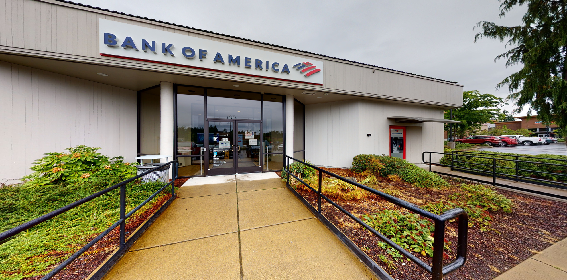 Bank of America financial center with drive-thru ATM   4815 Point Fosdick Dr NW, Gig Harbor, WA 98335
