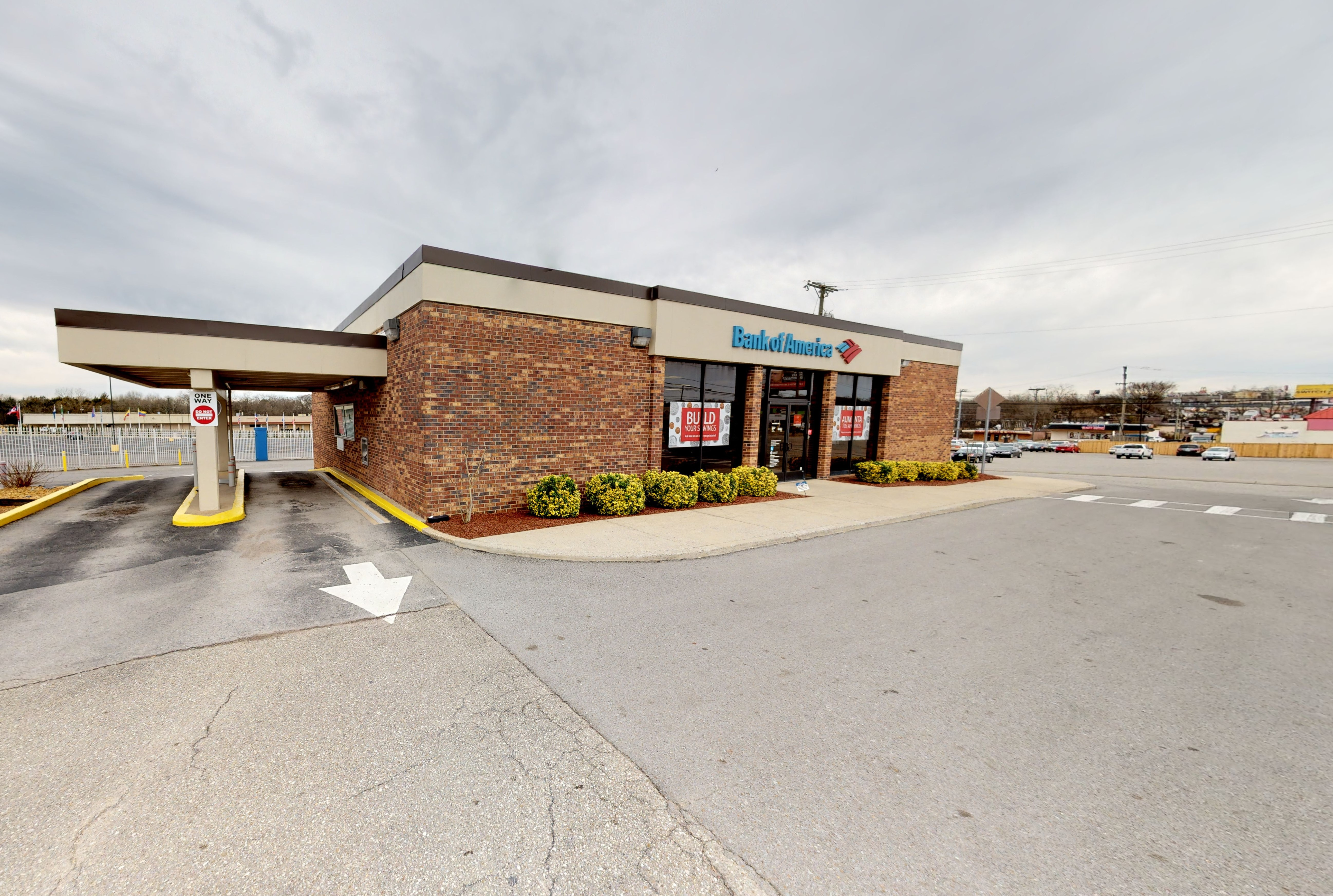 Bank of America financial center with drive-thru ATM | 3034 Dickerson Pike, Nashville, TN 37207