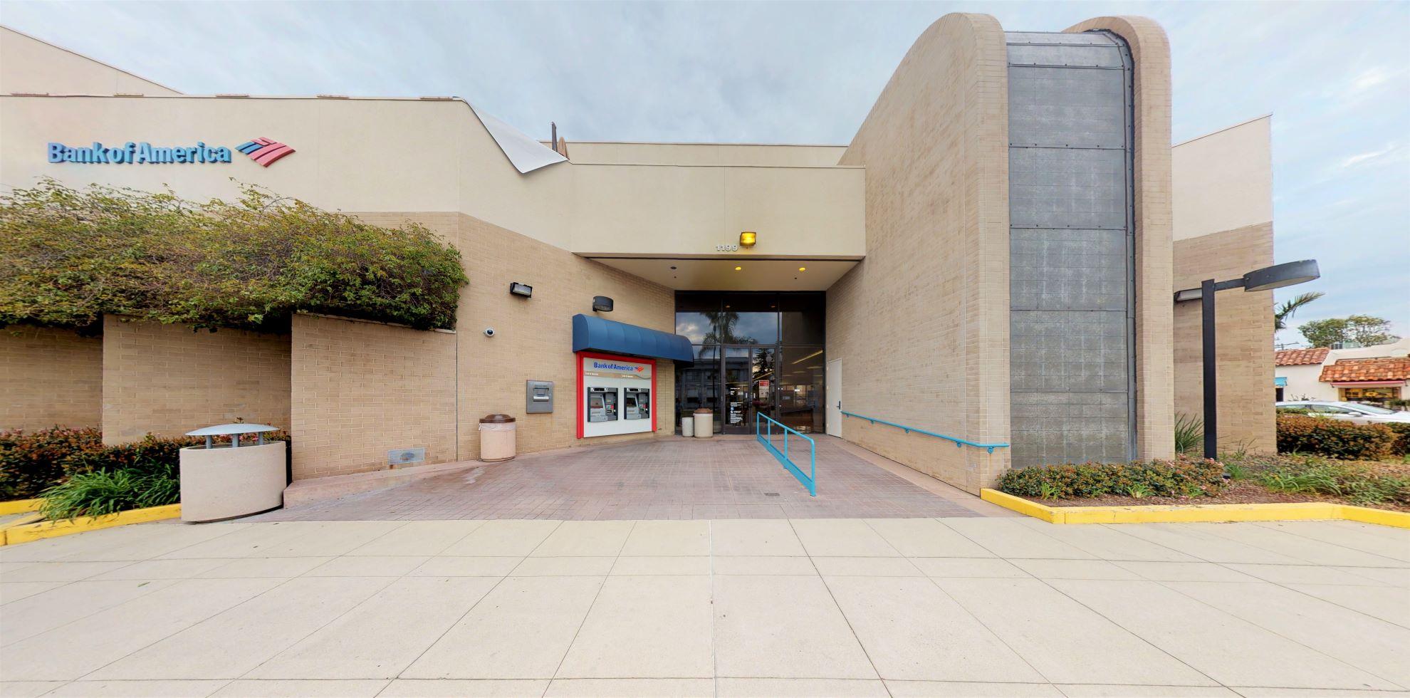 Bank of America financial center with walk-up ATM | 1199 Orange Ave, Coronado, CA 92118