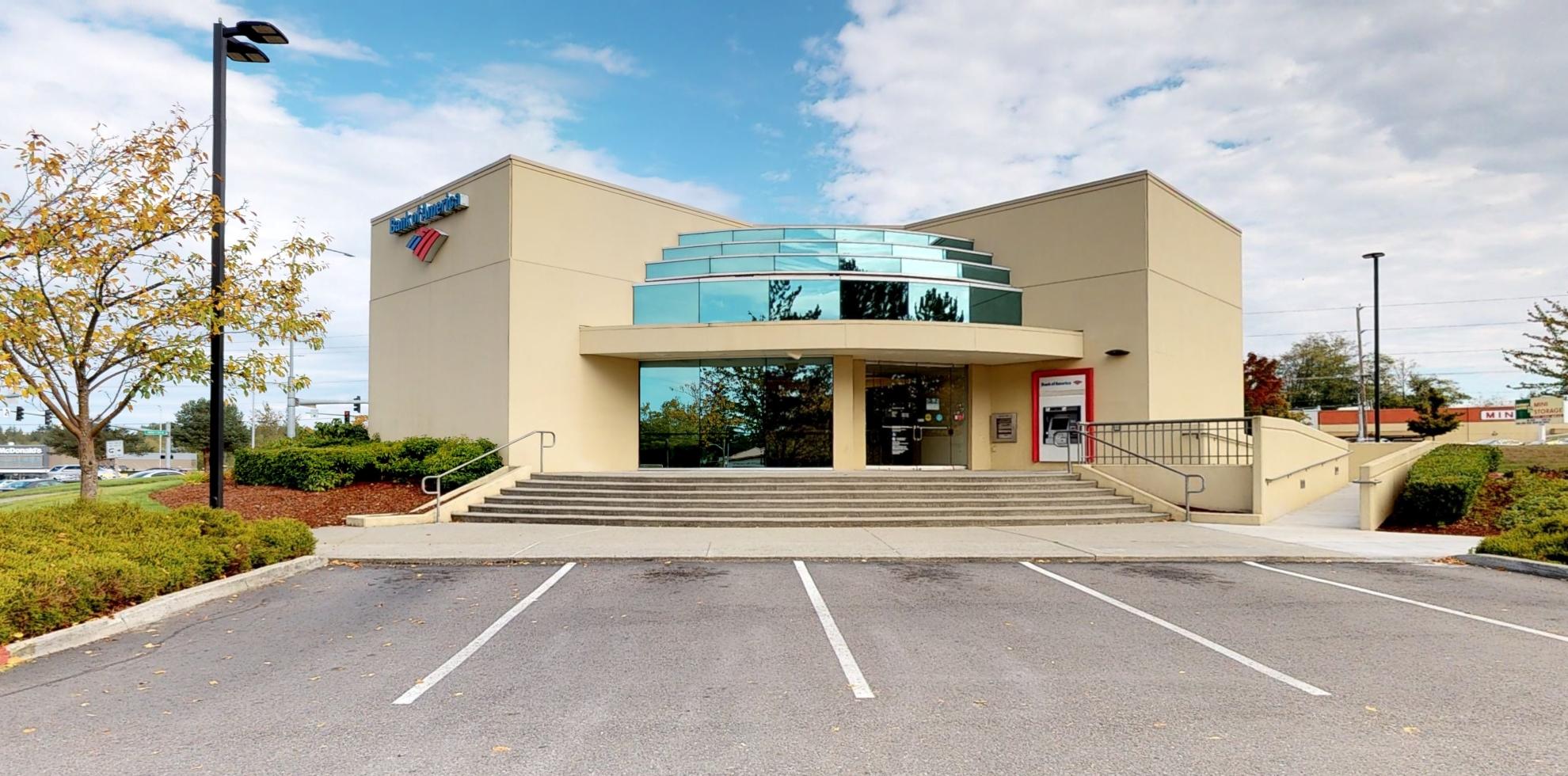 Bank of America financial center with drive-thru ATM | 3800 Harbour Pointe Blvd SW, Mukilteo, WA 98275